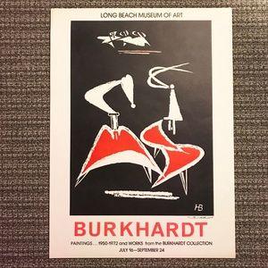 Hans Burkhardt Long Beach Museum of Art Lithograph